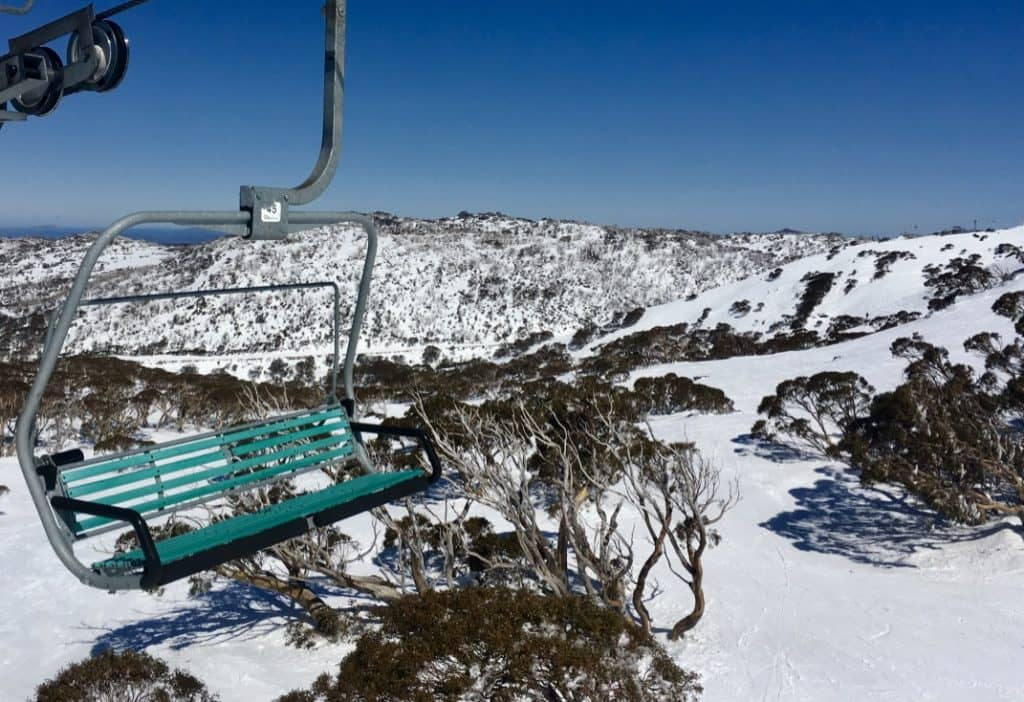 Chairlift View over Perisher