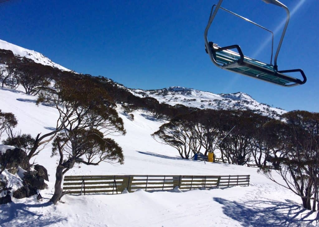 Chairlift from Mid Station