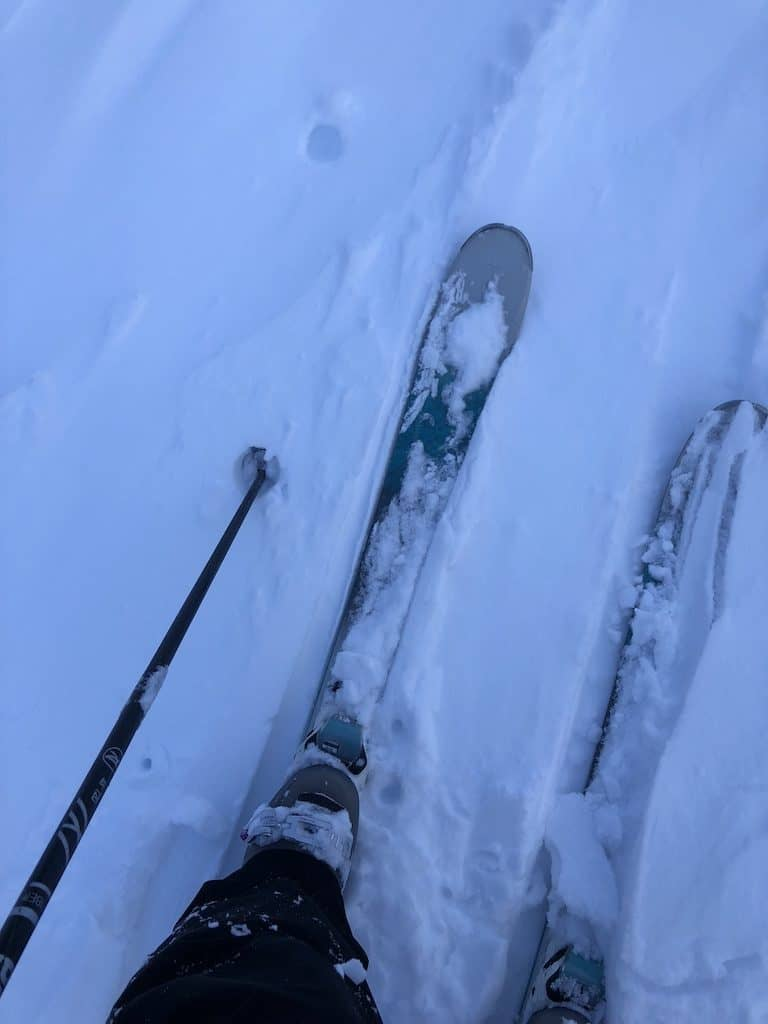 Making Snow Tracks