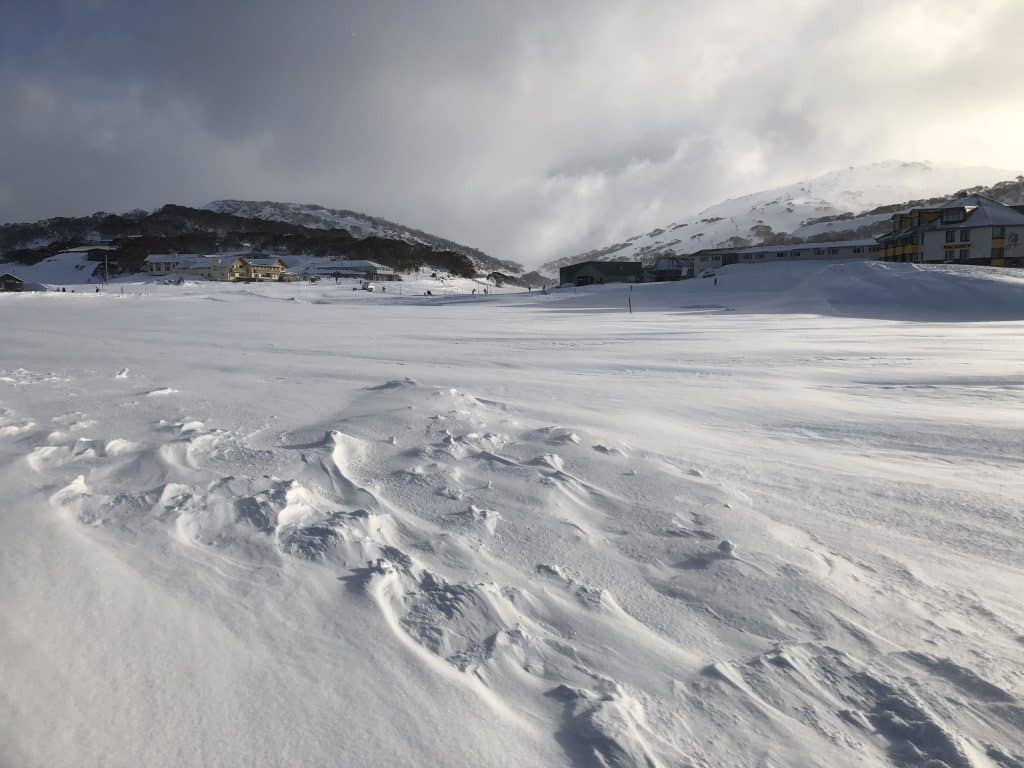 Winter View of Perisher Valley
